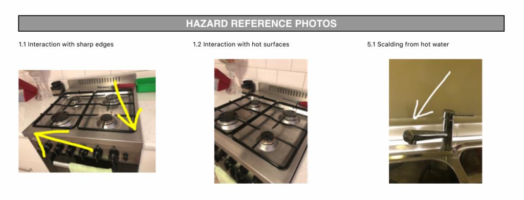 JSA JHA - Hazard reference photos